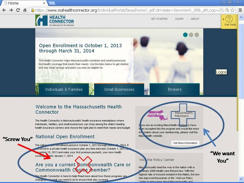 Massachusetts Health Stats What One Commonwealth Care User Thinks