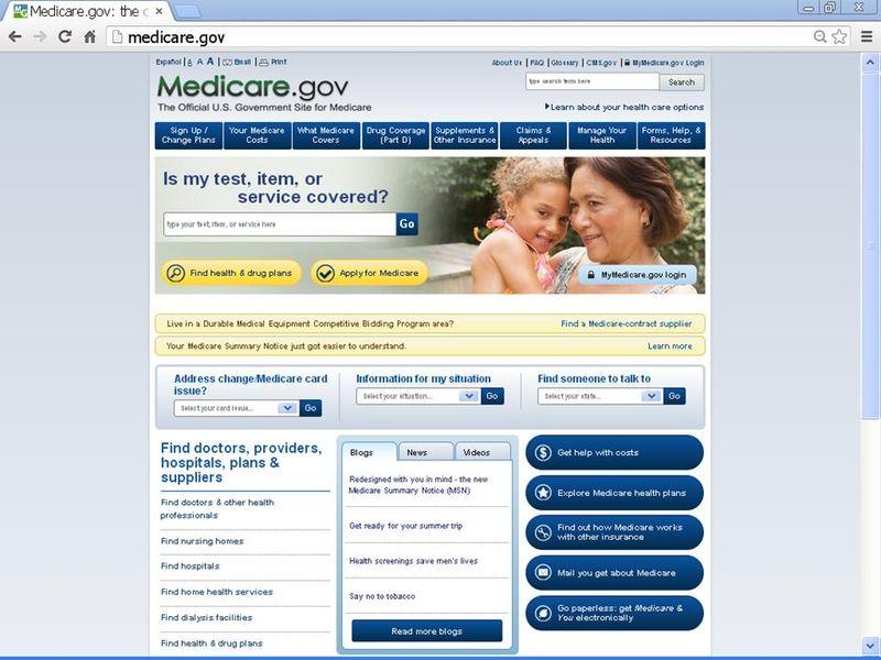 Medicarehomepage